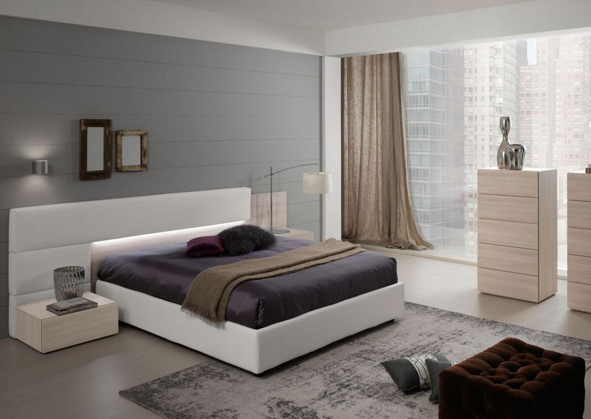 Vendita camere da letto napoli improta arredamenti - Testiera letto moderna ...