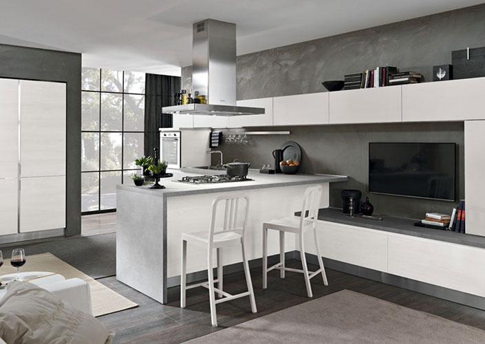 Vendita cucine napoli improta arredamenti - Cucine 2017 moderne ...