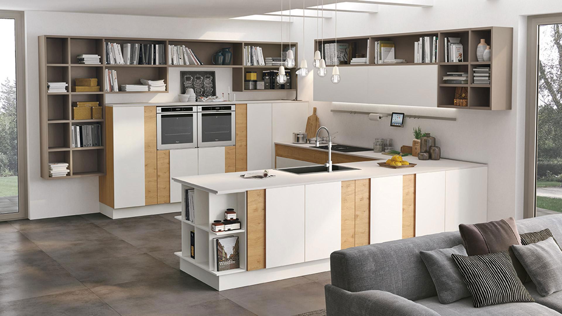 Cucine Lineari Moderne Economiche : Cucine moderne napoli free gallery of