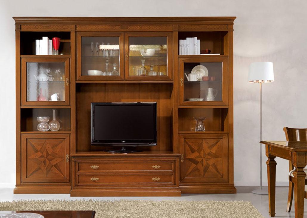 Arredamento napoli vendita pareti attrezzate stile moderno for Arredamento classico napoli