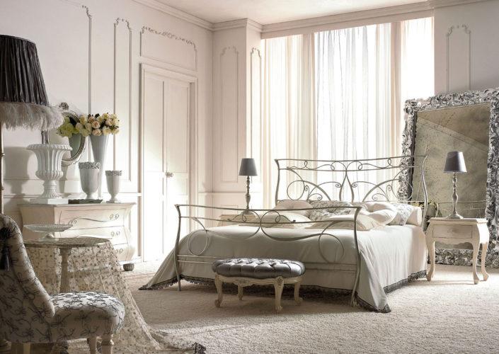 Arredamento napoli vendita letti in ferro battuto stile moderno classico improta arredamenti - Giusti portos camere da letto ...